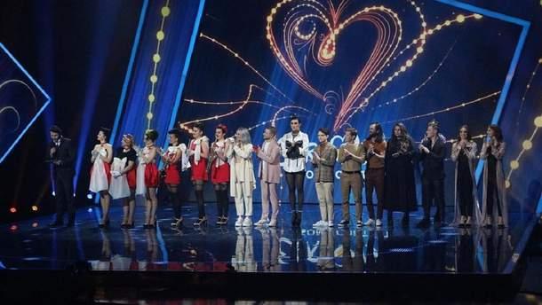 Учасники Нацвідбору на Євробачення-2019
