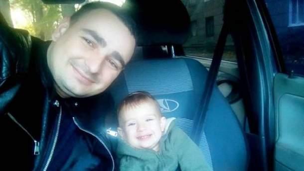 На фото – Василь Сорока із сином
