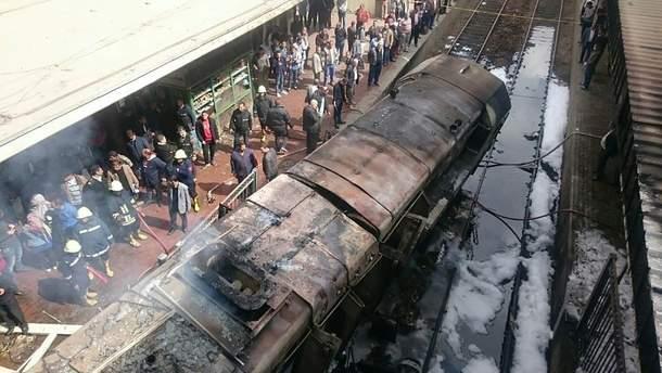 Вибух поїзда в Каїрі 27 лютого 2019 - загинуло 25 осіб - відео, фото з місця