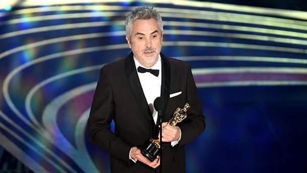 Альфонсо Куарон на премии Оскар-2019