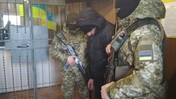 Українські прикордонники затримали проросійського бойовика