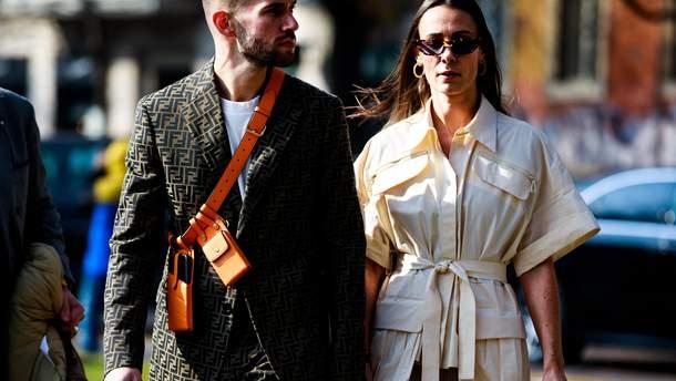 Street-style на Тижні моди в Мілані
