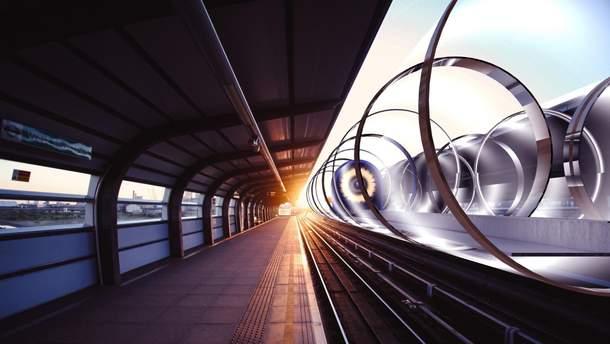 Во Франции завершают строительство Hyperloop