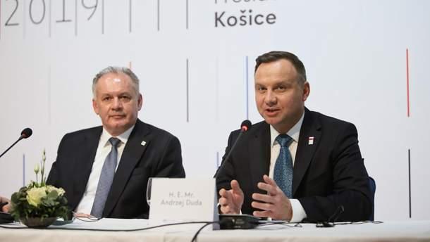 Президент Польщі різко висловився щодо Росії