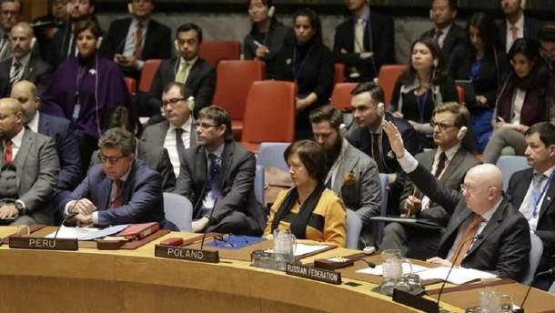 Голосування в ООН щодо Венесуели
