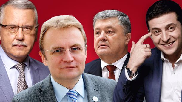 Садовый и Гриценко: рейтинг кандидатов, кто из них выше в доверии - опрос