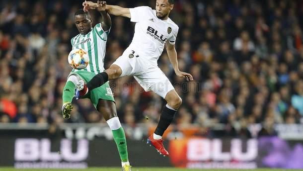 Валенсия – Бетис: видео голов, обзор матча Кубок Испании 2018/2019