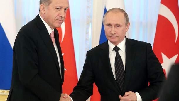 Турция требует отмены виз с Россией