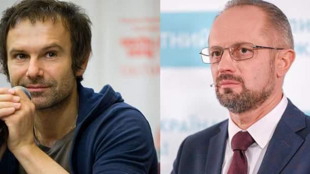 Святослав Вакарчук и Роман Бессмертный