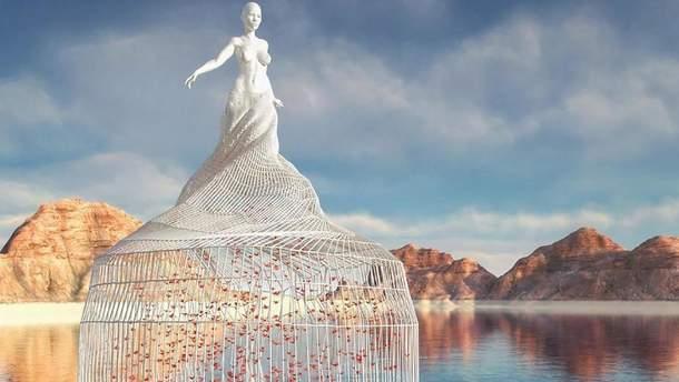 Цифрова скульптура Чеда Найта