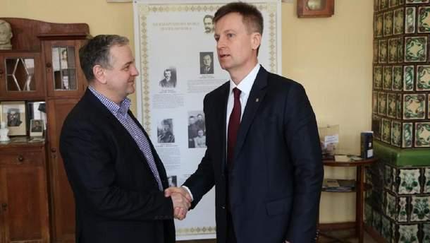 Валентин Наливайченко та Ігор Курус