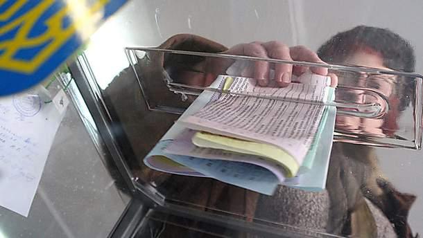 ЦВК затвердила зміст виборчого бюлетеня