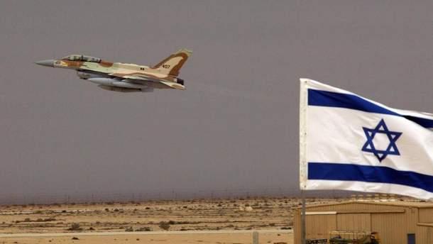 Ізраїль завдав удару по об'єктах ХАМАС