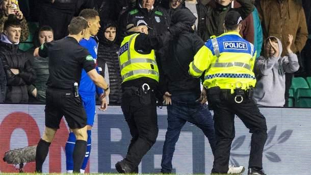 Вболівальник побився з шотландським футболістом
