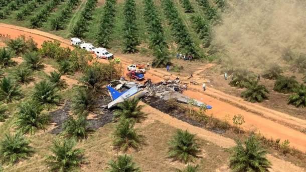 В Колумбии разбился самолет