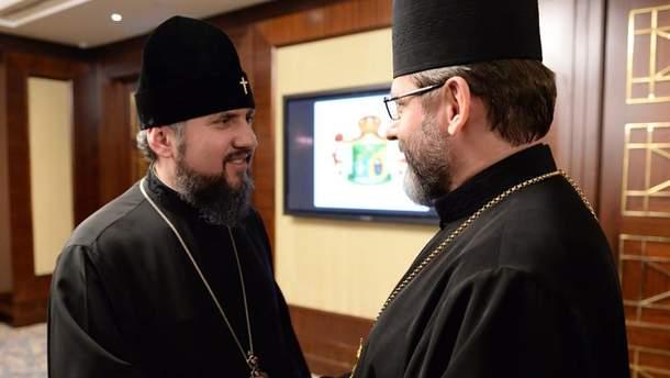 У ПЦУ розповіли подробиці зустрічі Епіфанія та Святослава