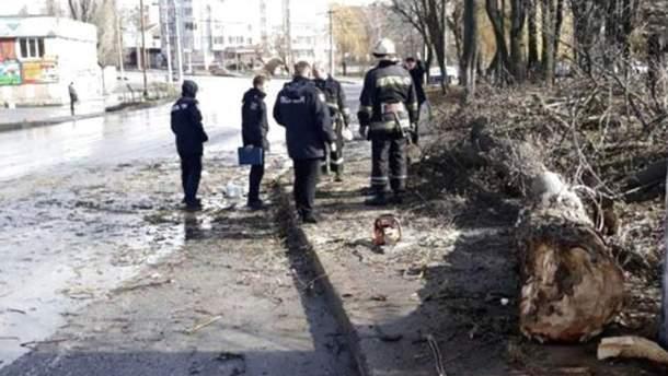 Фото с места трагедии 11-летней девочки