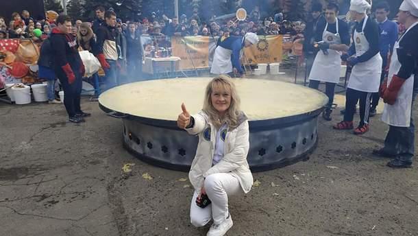 Крупнейший блин Украины