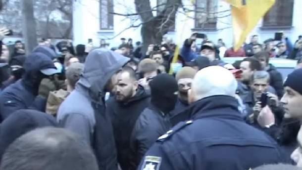 Столкновения в Черкассах
