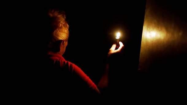 Венесуэла в темноте