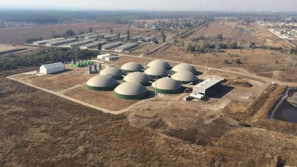 Биогазовоий комплекс по переработке органических отходов
