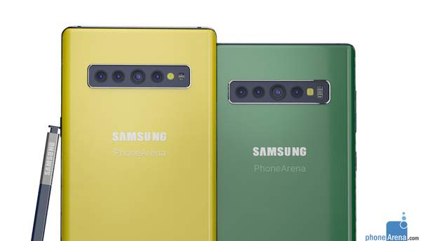 Так може виглядати  Samsung Galaxy Note10
