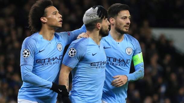 Манчестер Сіті - Шальке: відео голів, огляд матчу Ліга чемпіонів 2018/2019
