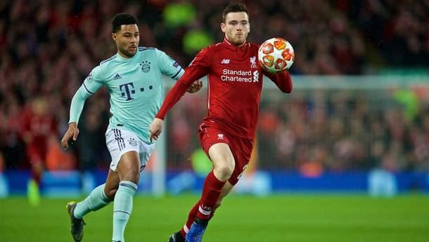 Бавария – Ливерпуль: где смотреть онлайн матч Лига чемпионов 2018/2019