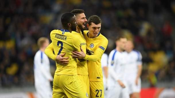Динамо - Челсі: огляд матчу Ліги Європи 2018/2019