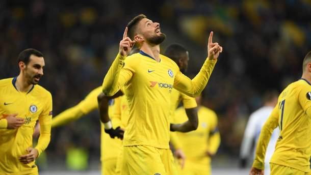 Динамо – Челси: видео голов, обзор матча Лиги Европы 2018/2019