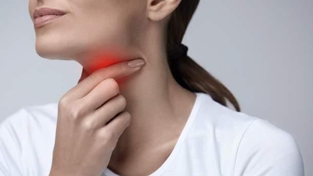 Болить горло: перша допомога