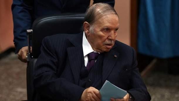 Абдельазиз Бутефлика, действующий президент Алжира