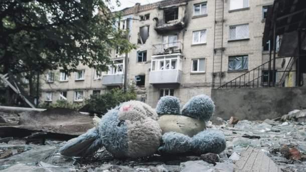 На Донбассе во время войны погибло более 3 тысяч гражданских лиц