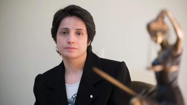 Іранська влада наклала заборону на юридичну практику Сотоудех