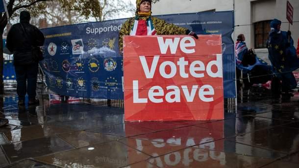 Прихильники Brexit очікують на позитивний результат голосування