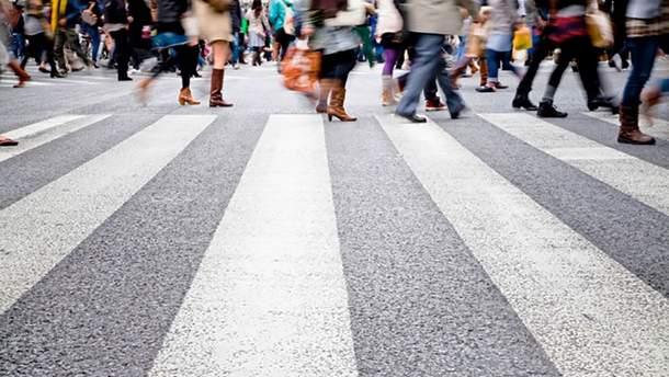 Скількох пішоходів оштрафували в Україні за порушення ПДР у 2018 році