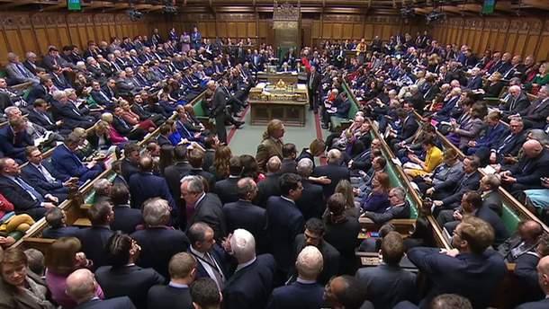 Парламент Британії вдруге відхилив угоду про Brexit
