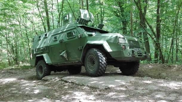 В Испанию экспортировали украинский Барс-8ММК с испанской минометной системой