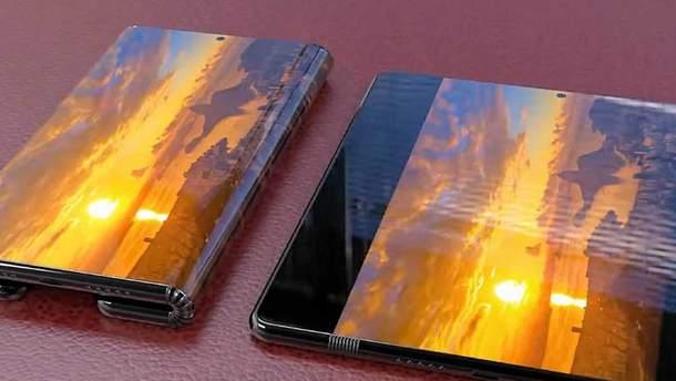 Гибкий смартфон Xiaomi Mi Fold показали на видео