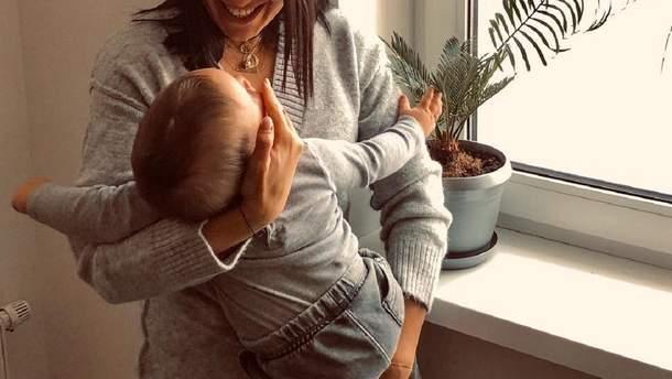 Джамала с сыном