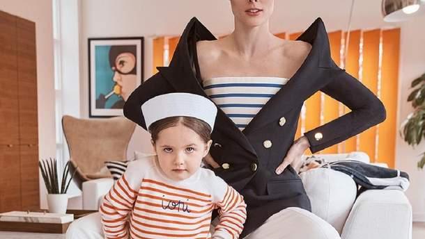 Коко Роша с дочерью Айони Джеймс Конран