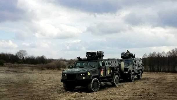 """Десантники испытали бронированный внедорожник """"Козак-2"""""""