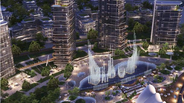 На месте завода Порошенко на Рыбальском острове может появиться район элитных многоэтажек