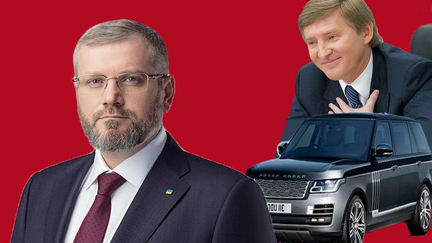 Автомобиль Ахметова и сожительница на миллион долларов: какие доходы не задекларировал Вилкул