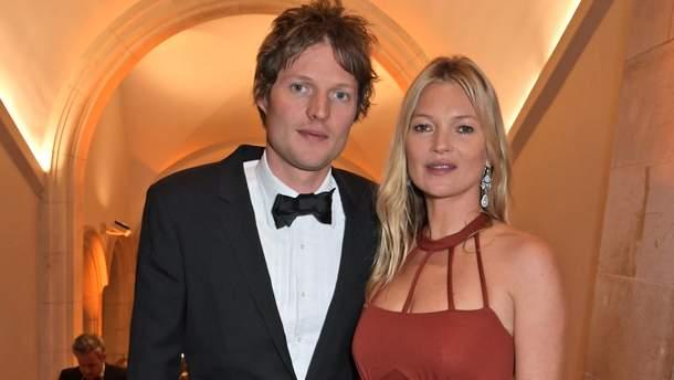 45-летняя Кейт Мосс и ее 30-летний бойфренд посетили вечеринку Кейт Миддлтон