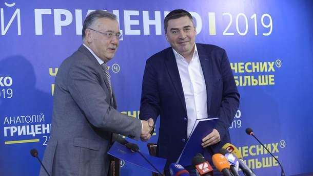 Гриценко и Добродомов подписали меморандум