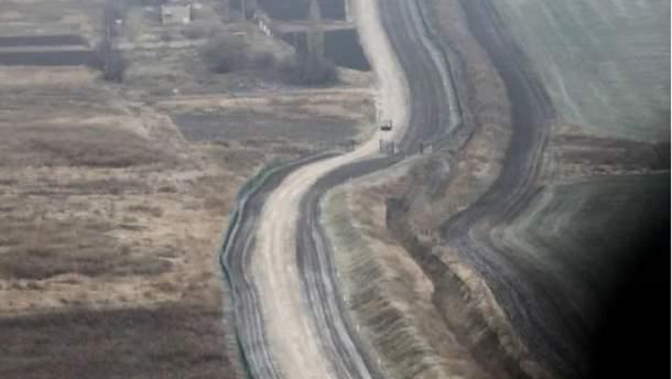 """Строительство """"стены"""" на границе Украины с РФ"""