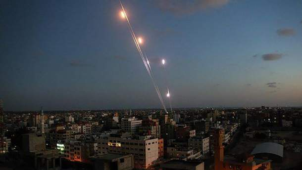 ХАМАС ударил ракетами по Тель-Авиву - видео и фото 14 марта 2019