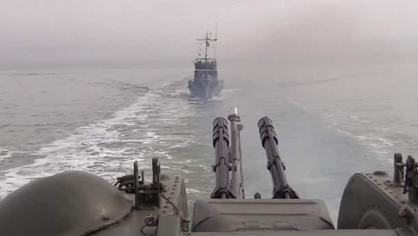 Тренировки на море с участием Объединенных сил