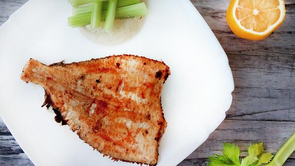 Камбала – рецепт дієтичної вечері для схуднення